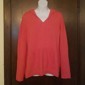 Eileen Fisher Pumpkin Spice Hooded Sweater